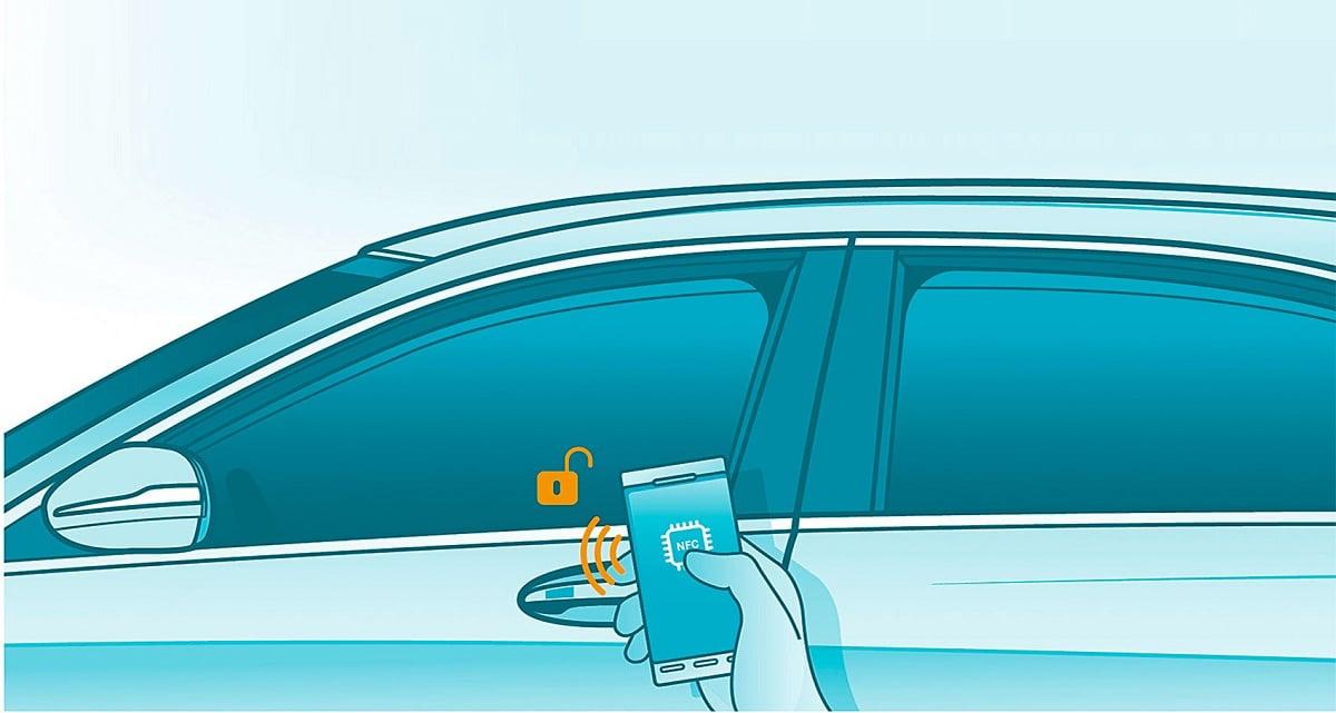 NFC abrir coche