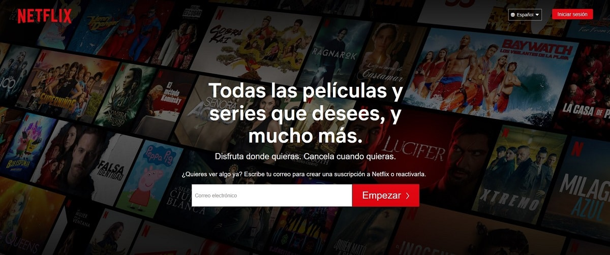 Alternativas a Netflix