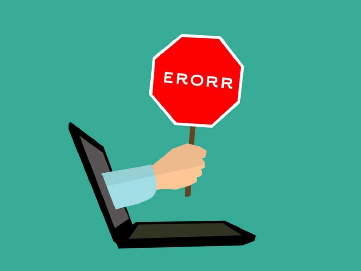 error connection reset