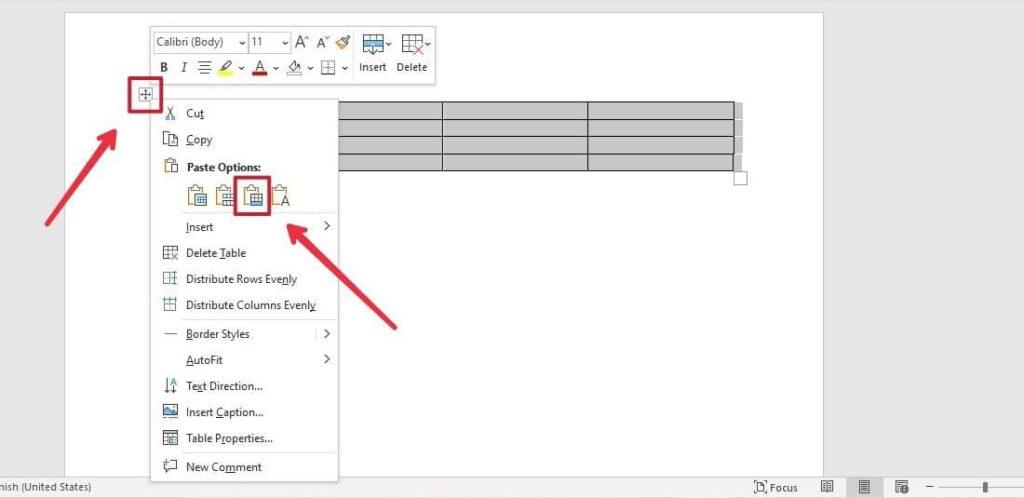 Cómo unir dos tablas en Word fácilmente