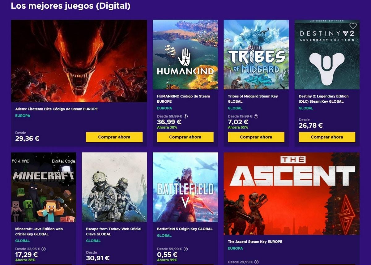 Comprar juegos digitales Eneba