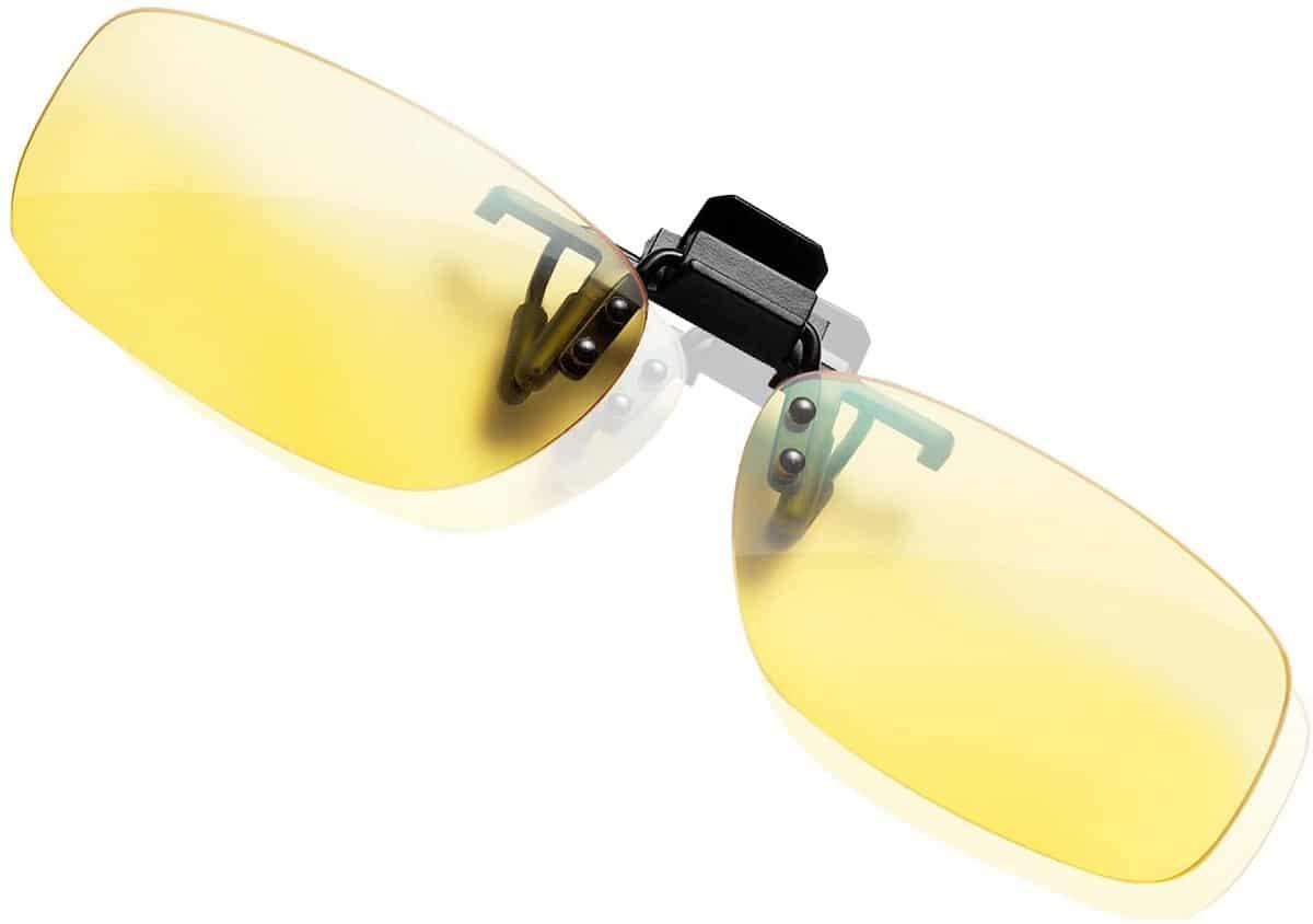 gafas ordenador clip