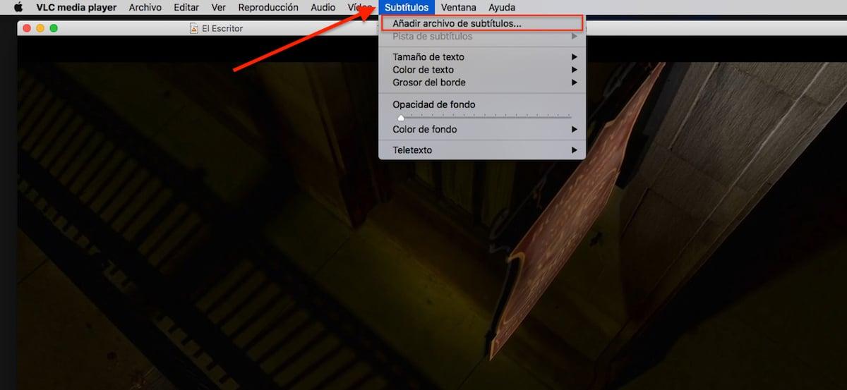 Subtítulos VLC