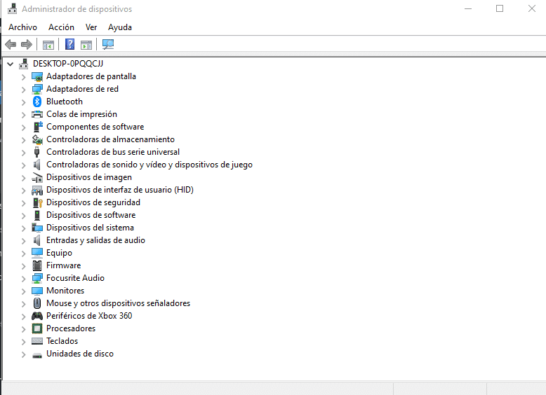 Device manager windows