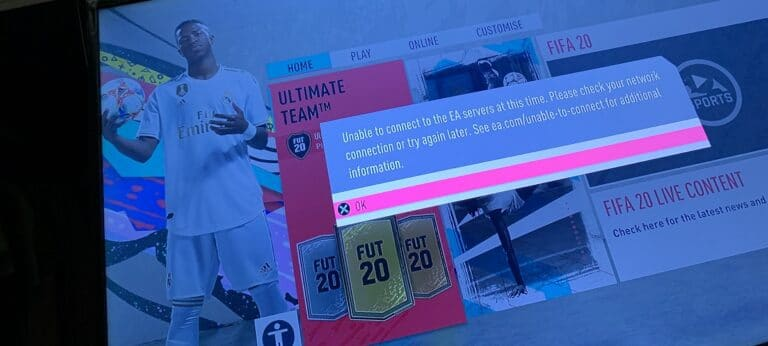 EA FIFA servidores problemas