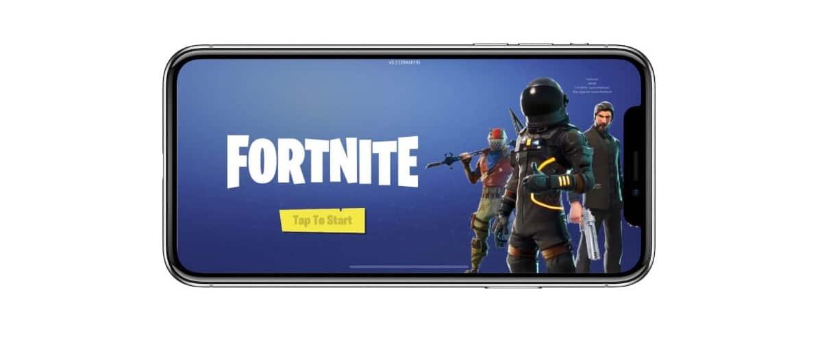 actualizar Fortnite en iOS