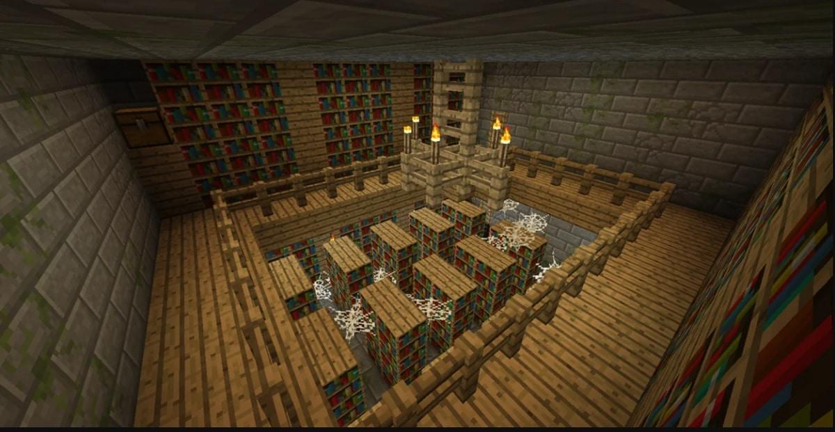 Libreria en Minecraft