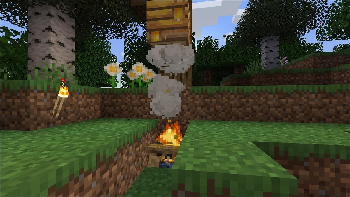 Miel en Minecraft