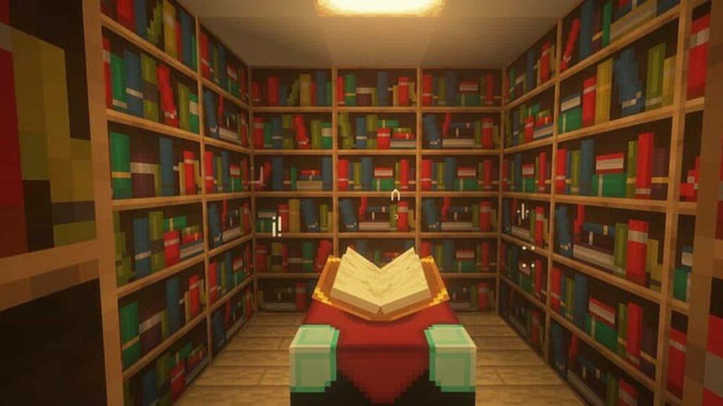 Minecraft craftear libreria