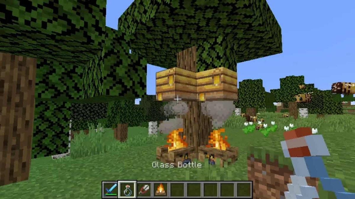 Minecraft obtener miel