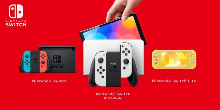 Nintendo Switch modelos