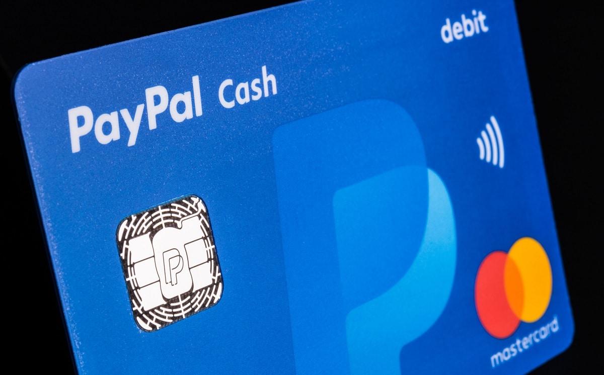 PayPal Cash Card