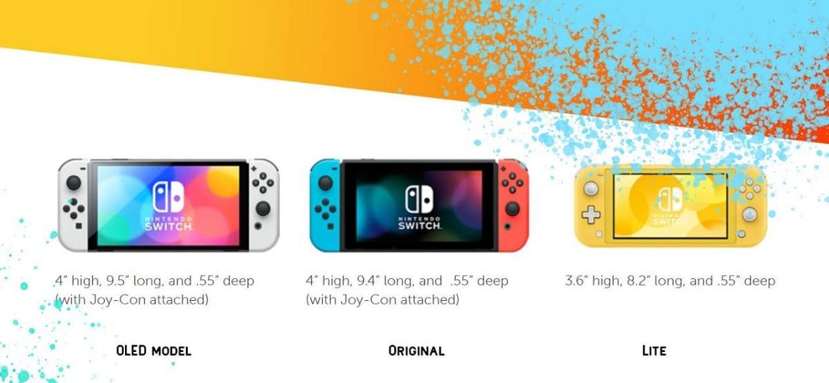 Versiones Nintendo Switch