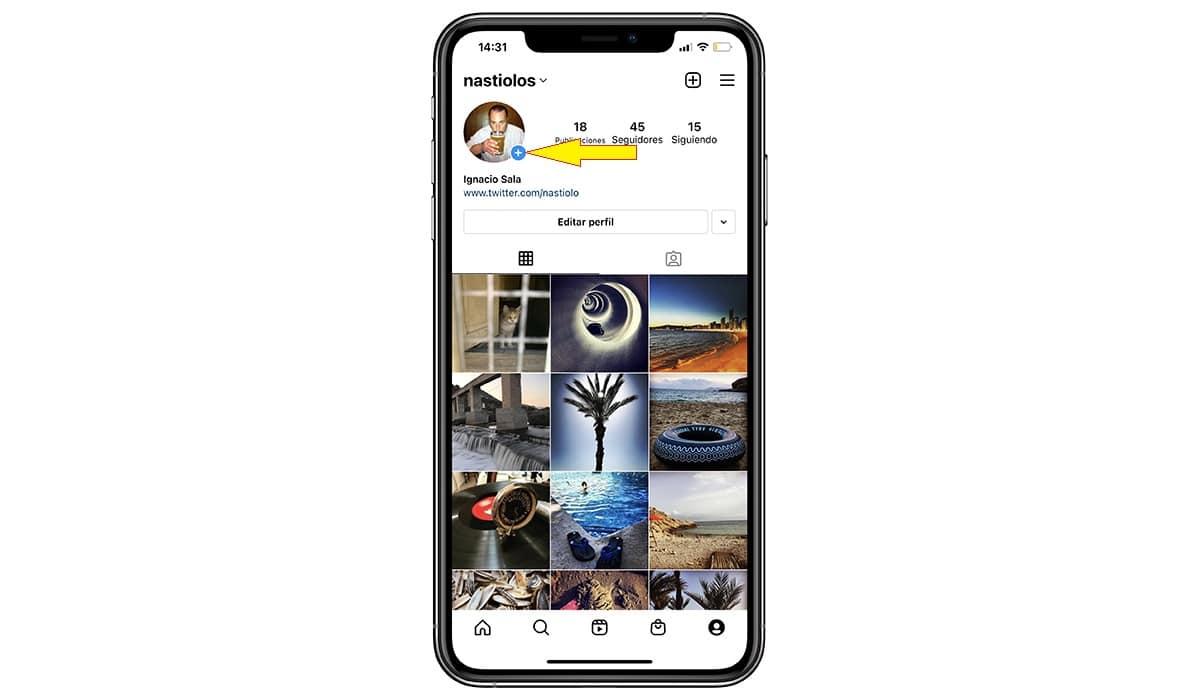 cambiar foto perfil instagram