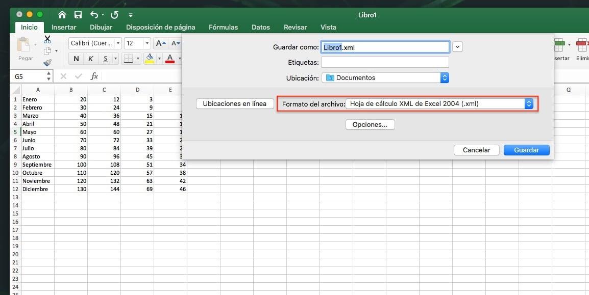 Cómo crear archivos .xml