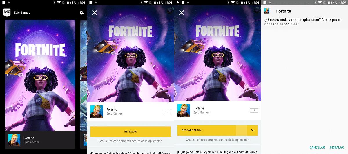 actualizar Fortnite en Android