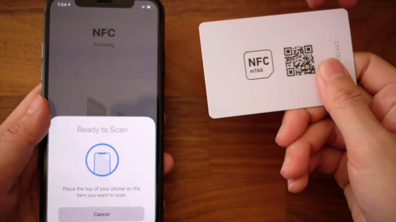 como activar nfc en iphone