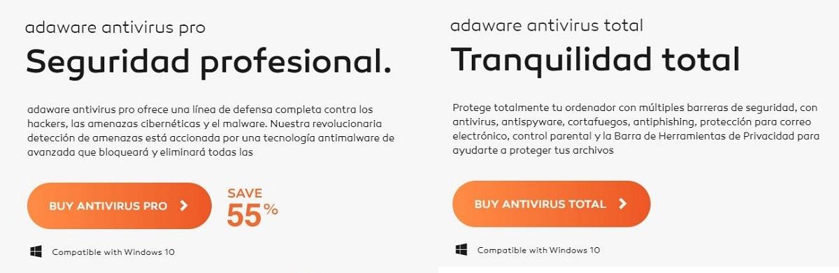Lavasoft Adaware precios