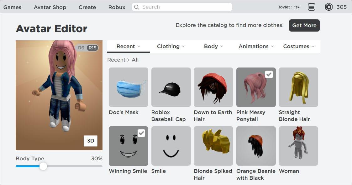 editor avatares roblox