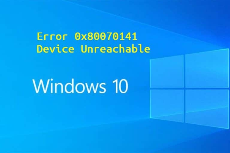 error windows