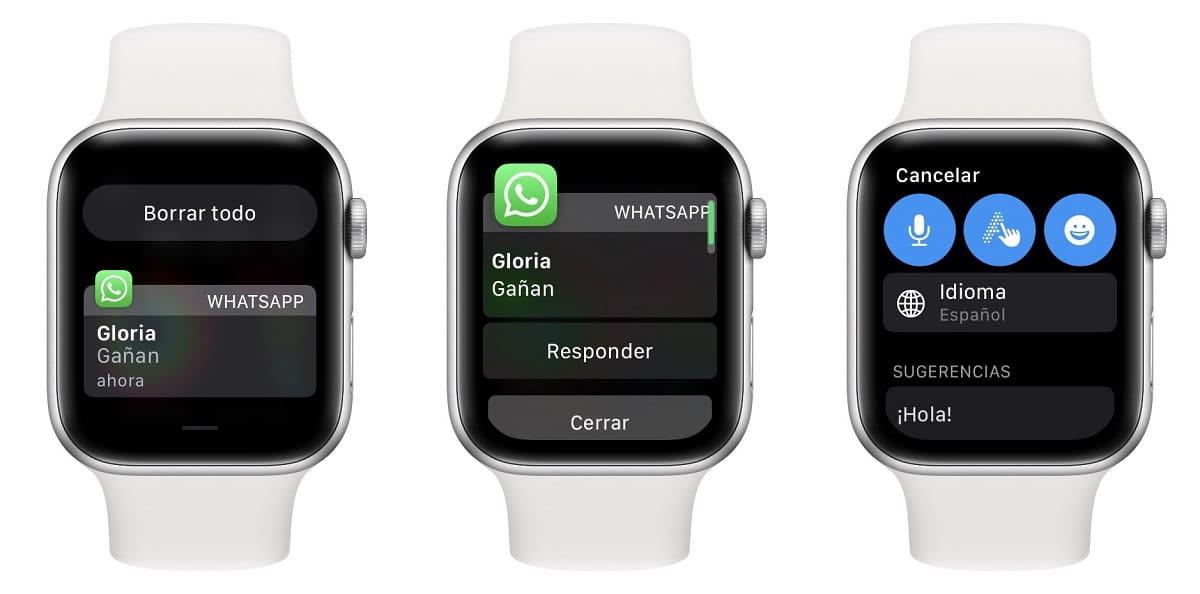 WhatsApp en el Apple Watch