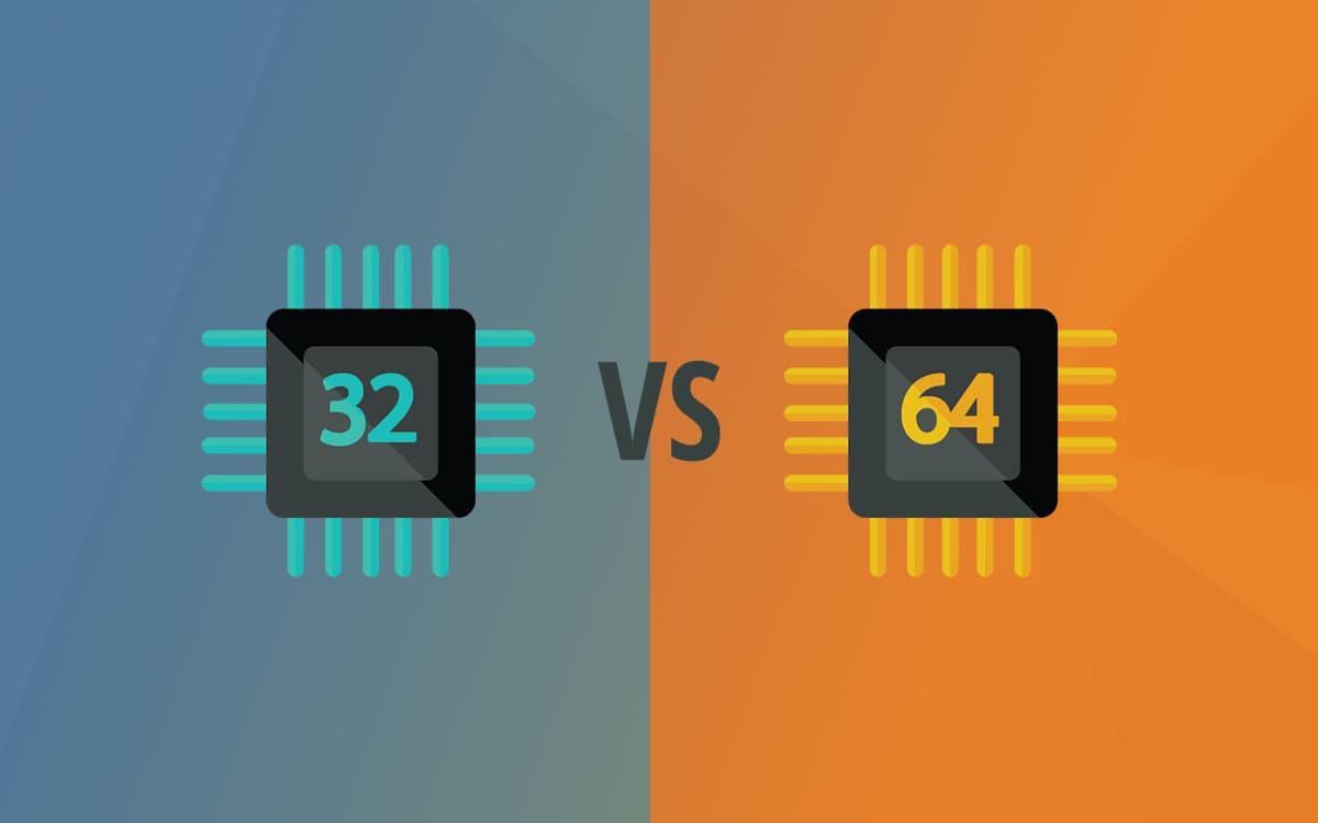 Diferencias entre 32 y 64 bits