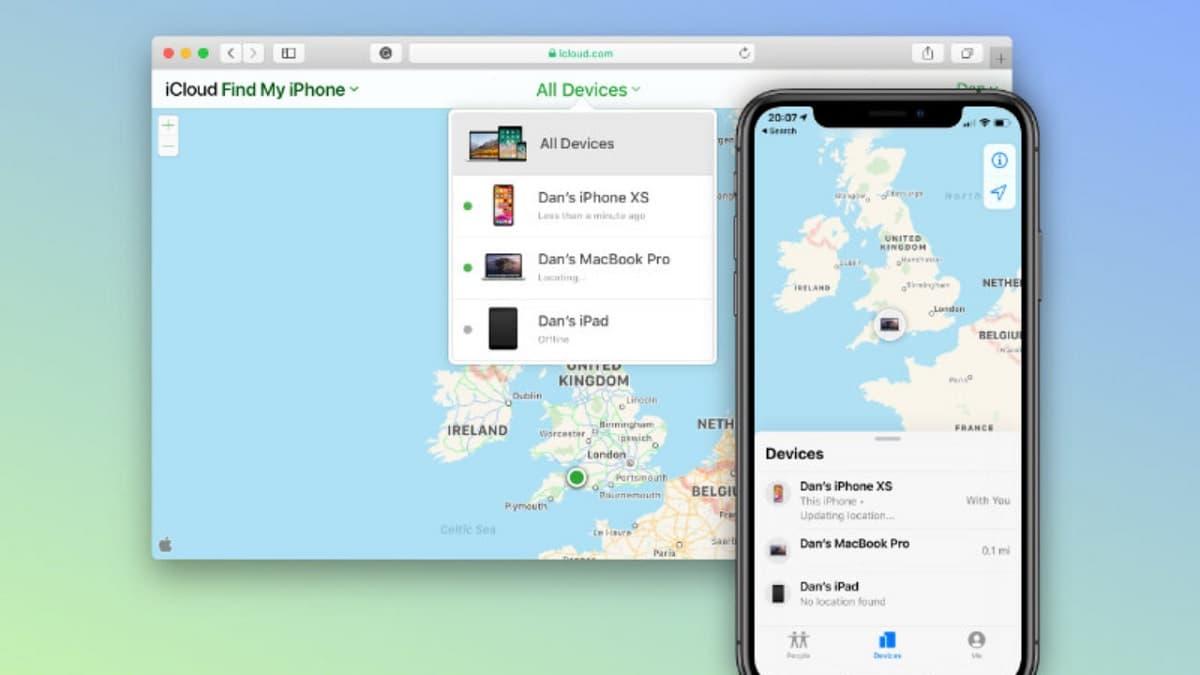 Find My iPhone en iCloud