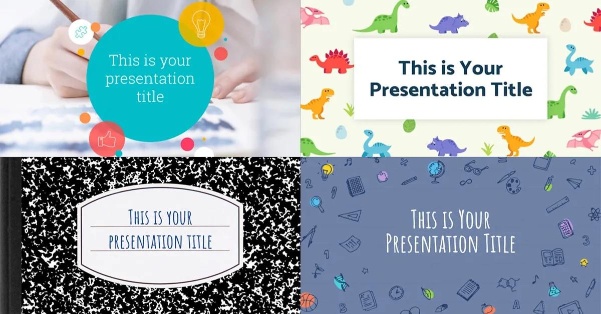 Plantillas PowerPoint educacion