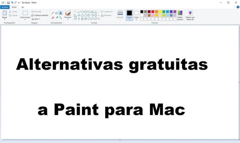 Alternativas a Paint para Mac
