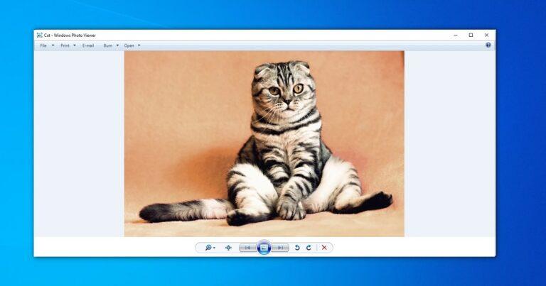 Windows Foto Viewer